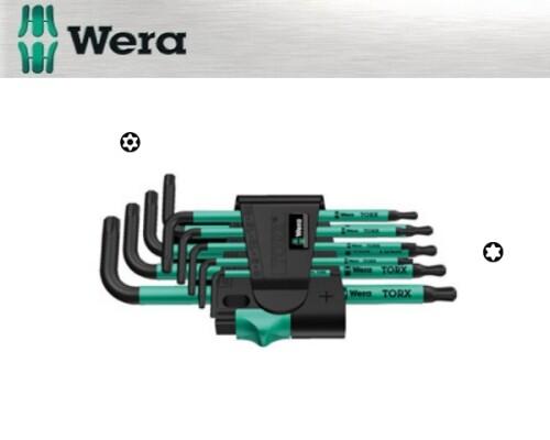 sada TORX klíčů, otvor+magn, WERA 967 SPKL/9,9ks