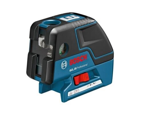 stavební samonivelační laser BOSCH GCL 25 P