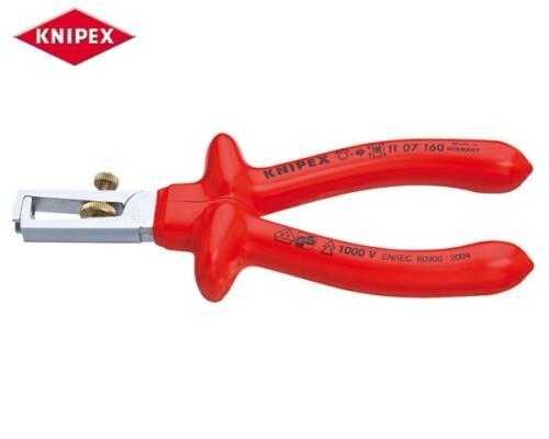 odizolovací kleště, KNIPEX, chrom, VDE, 160mm
