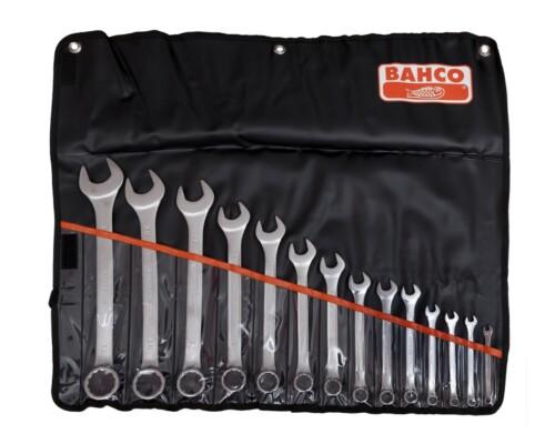 sada očkoplochých klíčů, BAHCO, 14ks, 6-32mm