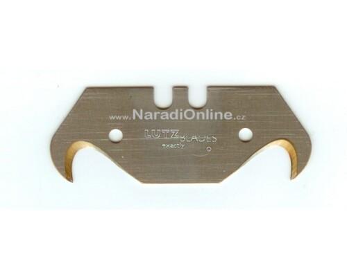 háková trapézová čepel TiN, 50,7x18,7x0,65mm, 10ks
