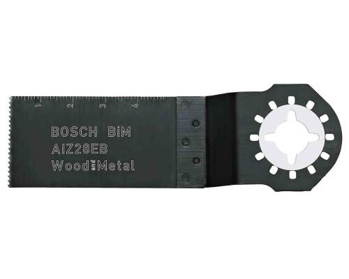 BiM ponorný pilový list na dřevo a kov AIZ 28 EB, 28x50mm