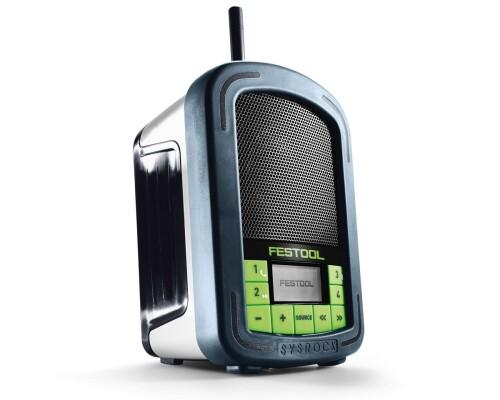 Rádio na stavbu BR 10 Festool Sysrock