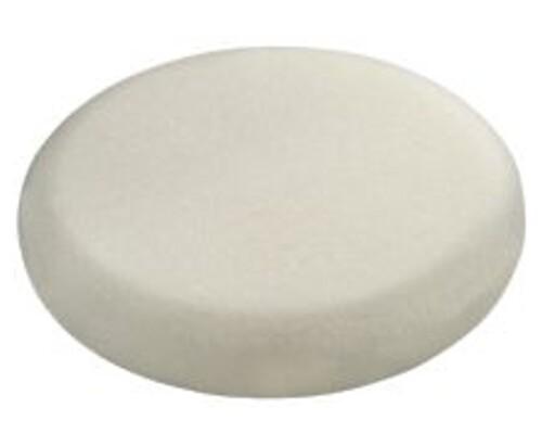 Leštící houba bílá, jemná, 150mm, 1ks