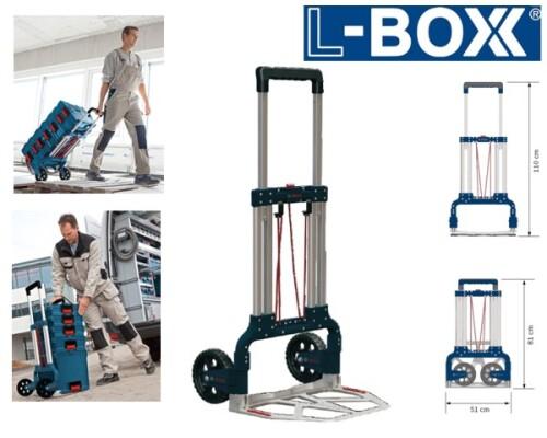 transportní skládací vozík L-Boxx, BOSCH Sortimo