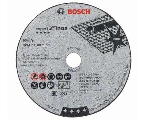 Řezací kotouč na kov a nerez Expert for Inox 76/1,0mm (5ks)