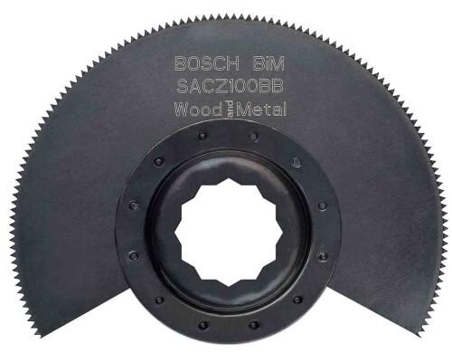 BiM segmentový pilový kotouč na dřevo a kov SuperCut SACZ 100 BB