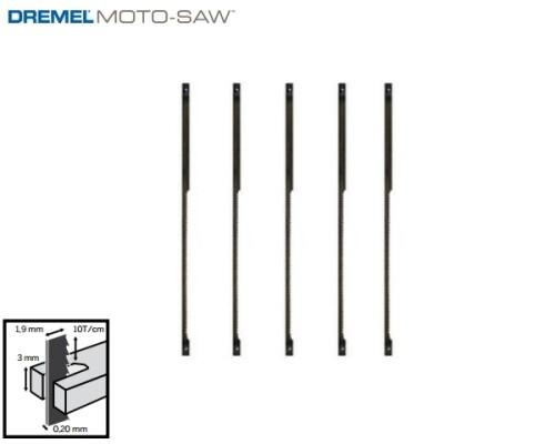 pilový list DREMEL Moto-Saw, univerzální na kov, MS53, 5ks