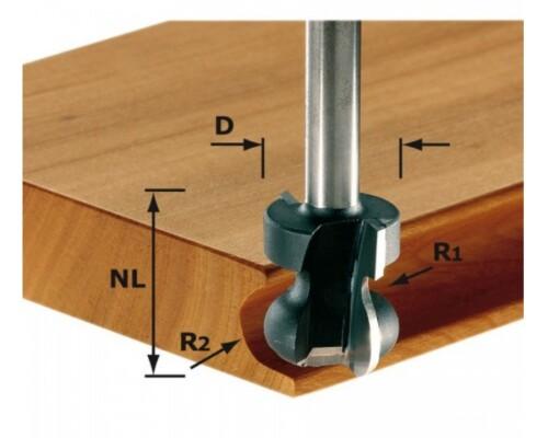 Fréza na skrytá držadla HW, stopka 8 mm