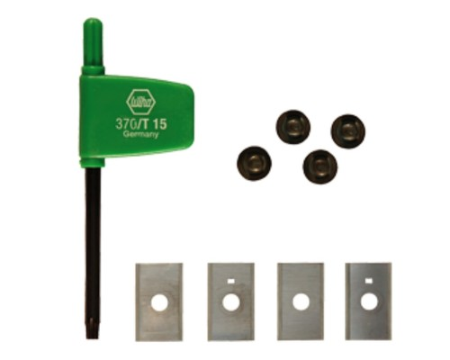 Výměnné žiletky Festool HW-WP 30x12x1,5mm, 4ks