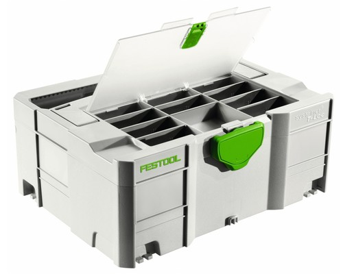 Systainer Festool T-LOC SYS 2 TL-DF s přihrádkou