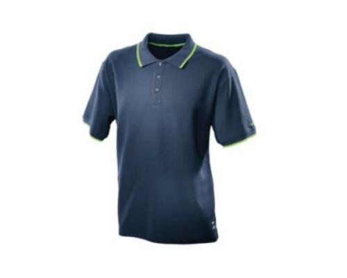 bavlněné modré tričko, FESTOOL, velikost XL