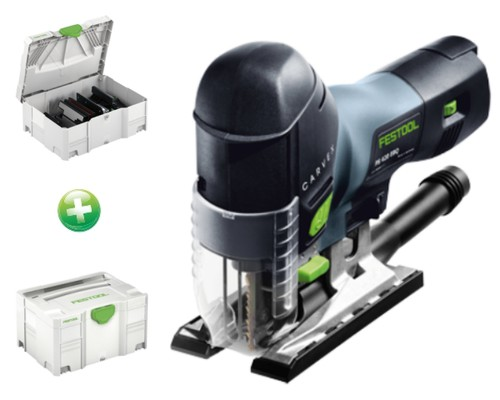 přímočará pila FESTOOL CARVEX PS 420 EBQ-SET