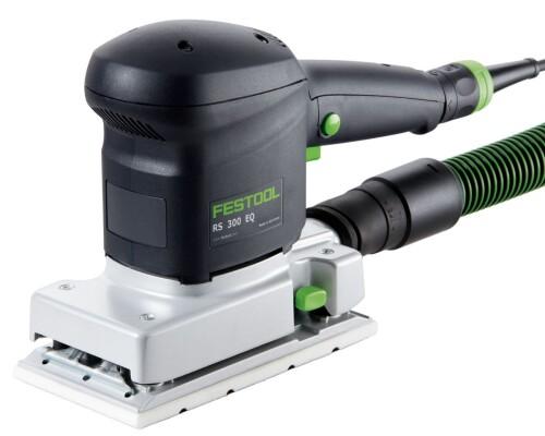 vibrační bruska FESTOOOL, RS 300 EQ-SET, 93x175mm