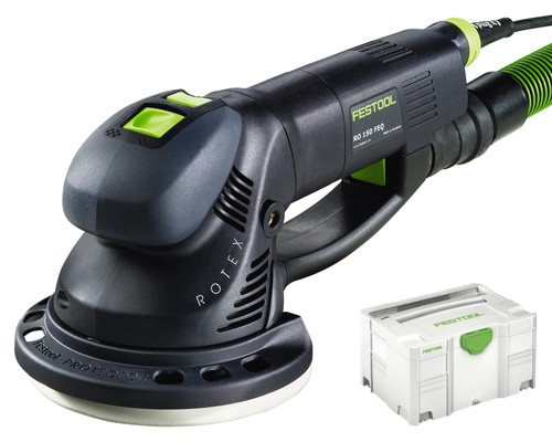 excentrická bruska FESTOOL, ROTEX 150 FEQ-PLUS