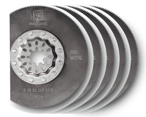 Pilový kotouč na kov segmentový HSS Starlock, D 85mm, tl. 1,0mm (5ks)