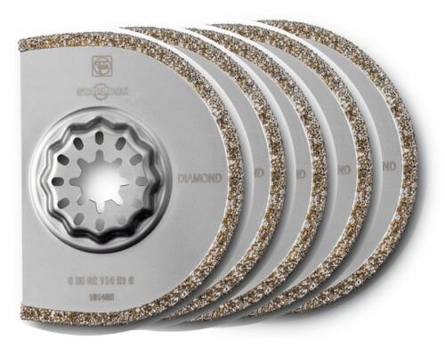 Diamantový segmentový kotouč StarLock D 75mm x 2,2mm, 5ks