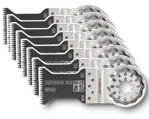 Pilový list s japonským ozubením SL E-Cut Precision 50x35mm (10ks)