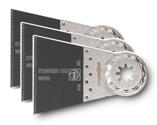 Pilový list na dřevo a plasty SLP E-Cut Standard 50x65mm (3ks)