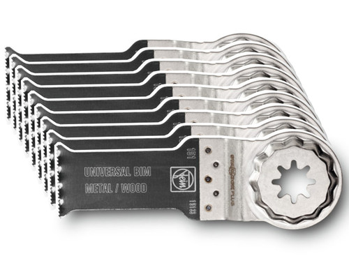 Pilový list Bi-Metal na dřevo a kov SLP E-CUT Universal, 60x28mm, 10ks