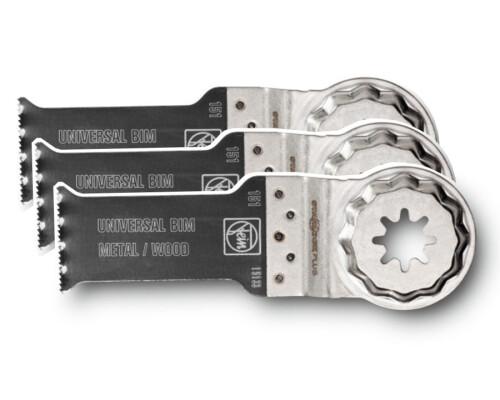 Pilový list Bi-Metal na dřevo a kov SLP E-CUT Universal, 60x28mm, 3ks