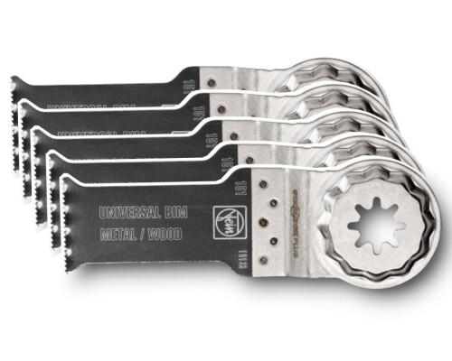 Pilový list Bi-Metal na dřevo a kov SLP E-CUT Universal, 60x28mm, 5ks