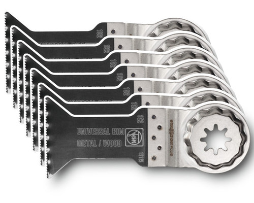 Pilový list Bi-Metal na dřevo a kov SLP E-CUT Universal, 60x44mm, 10ks