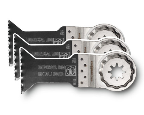 Pilový list Bi-Metal na dřevo a kov SLP E-CUT Universal, 60x44mm, 3ks