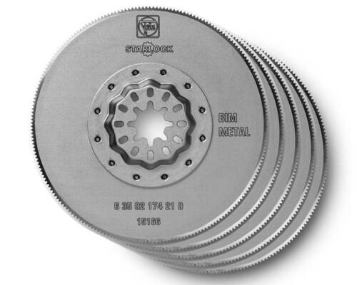 Pilové kotouče Bi-Metal na kovy a plasty SL, průměr 85mm, 5ks
