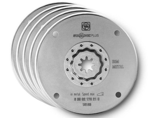 Pilové kotouče Bi-Metal na kovy a plasty SLP, průměr 100mm, 5ks