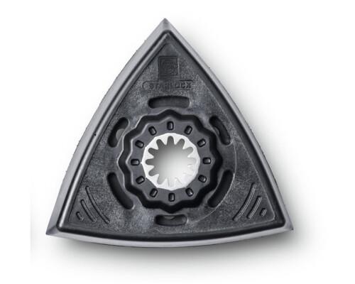 Podložná brusná deska se SZ děrovaná, tvar delta, StarLock (2ks)