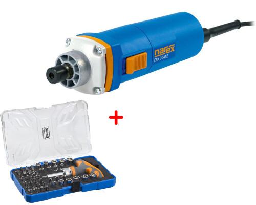 Bruska přímá s regulací otáček, krátká, Narex EBK 30-8 E + 61-Tool Box