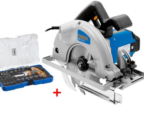 Okružní pila Narex EPK 16 D v systaineru T-Loc + 61-Tool Box
