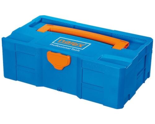 Systainer T-LOC systémový kufr Narex, modrá barva, SYS-MIDI-TL2