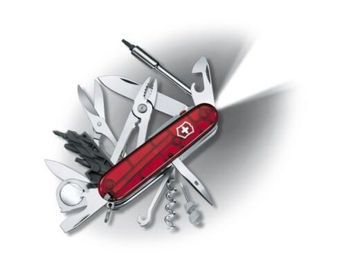 kapesní nůž VICTORINOX, CyberTool-Lite, červený, 91mm