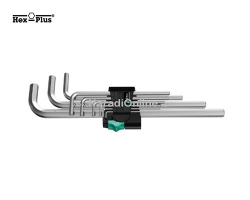 sada IMBUS klíčů, dlouhé, WERA 950 L/9 SM N