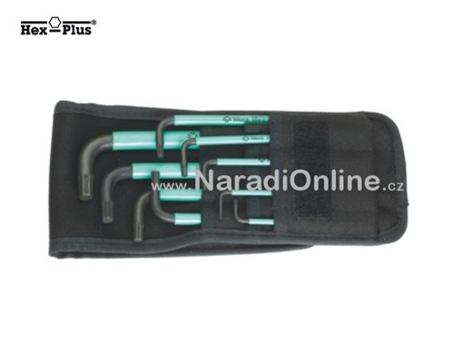 sada IMBUS klíčů, kulička, INCH, WERA 950 SPKL/9 SZ