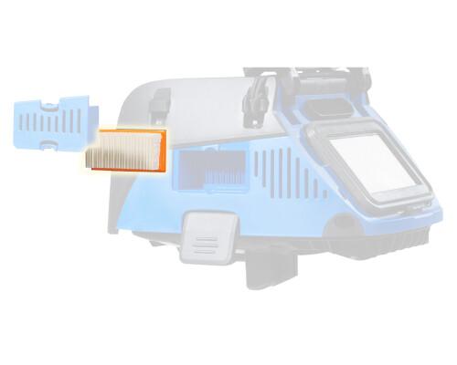 Doplňkový filtr pro chlazení motoru vysavače Attix 33-44