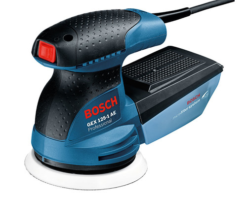 Excentrická bruska Bosch GEX 125-1 AE, karton