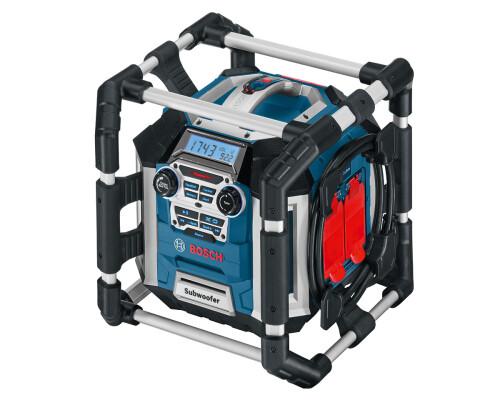 Aku rádio s nabíječkou BOSCH GML50, AUX, USB, SD/MMC, 50W