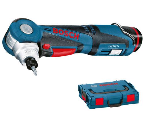 AKU úhlový šroubovák Bosch GWI 12V-5 Li, 2x 2,0Ah, L-Boxx