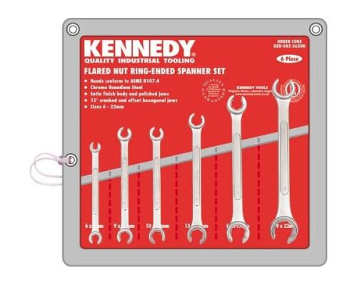 Sada klíčů na převlečné matice 6-22mm, 6ks