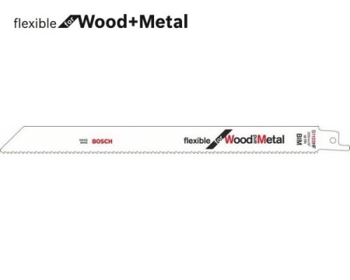 pilový list ocaska flexibilní na dřevo a kov S 1122 HF, 225mm, 5ks
