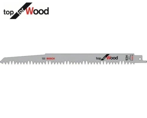 pilový list ocaska na rychlé řezy do dřeva S 1531L, 240mm, (5ks)