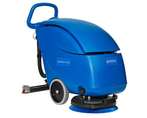 Podlahový mycí stroj s chodící obsluhou Scrubtec 343.2 B combi