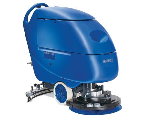 Podlahový mycí stroj s chodící obsluhou Scrubtec 653 BL combi