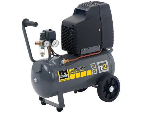 Mobilní dílenský bezolejový kompresor UniMaster UNM 210-8-25 WXOF