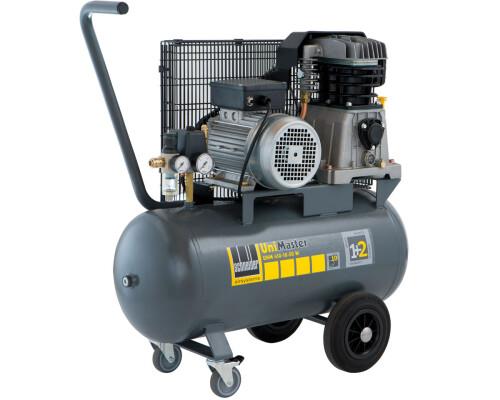 Mobilní dílenský kompresor UniMaster UNM 410-10-50 W