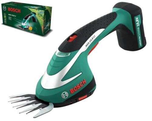 Akumulátorové nůžky na trávu Bosch AGS 10,8 Li