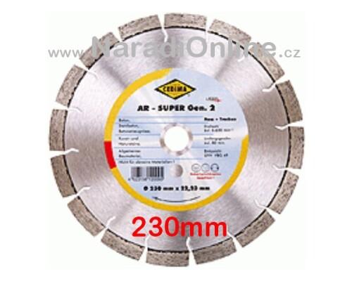 diamantový kotouč CEDIMA-AR, BETON, 230mm